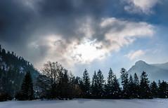 Clairire d'Hiver (A.G. Photographie (+ 100 000 vues)) Tags: winter sunset sky snow mountains nature clouds alpes nikon hiver sigma ciel neige nuages fort montagnes couchdesoleil drme d5000 luslacroixhaute
