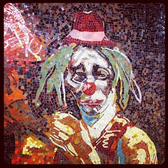 sad scary clown #nyc