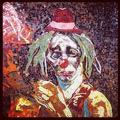 sad scary clown #nyc