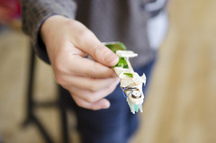 Langwerpige bristlebot (Waag | technology & society) Tags: amsterdam kids robots workshop waag electra technologie knutselen plakken nieuwsgierig maken knippen creatief techniek waagsociety fablab solderen bristlebots fabschool fabschoolkids