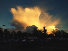 blast (fotobananas) Tags: sunset liverpool evening glow tesco carpark blast allerton hss fotobananas