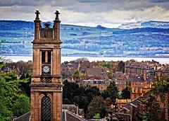 Edinburgh (rogueslr) Tags: church water photoshop canon effects scotland photo edinburgh 4 free hills forth hdr firth onone 50d cs5