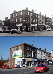 Walton Road, Walton, 1966 and 2013 (Keithjones84) Tags: street old city history liverpool comparison oldphotos thenandnow merseyside localhistory oldliverpool