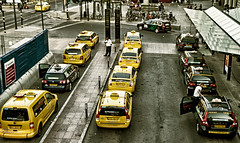 Black and yellows taxi  Taxi neri e gialli by MDL-photo (Urban Picnic Street Photography) Tags: street black photography photo taxi e yellows neri  gialli mdlphoto