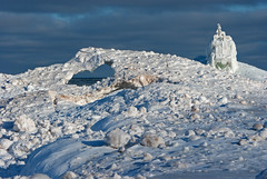 Grand Marais Harbor Outer Light Station (Gary of the North(Footsore Fotography)) Tags: lighthouse lakeshore upperpeninsula lakesuperior picturedrocksnationallakeshore absolutemichigan amazingmich grandmaraismichigan puremichigan cloudsstormssunsetssunrises grandmaraismichiganusa