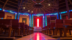 Metropolitan Cathedral of Christ the King (Brian Negus) Tags: england liverpool unitedkingdom interior romancatholic merseyside metropolitancathedral blindphotographers