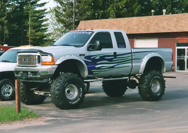 ford wisconsin truck 4x4 f350 lifted superduty superswamper
