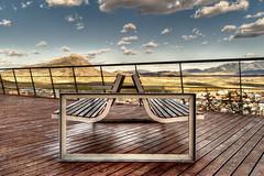 Mirador. (Francisco Esteve Herrero) Tags: landscape banco paisaje nubes mirador jumilla 2013 regióndemurcia franciscoesteveherrero