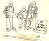 Punch - Civil Service String Trio (roger4336) Tags: england london magazine 1987 cartoon humour punch