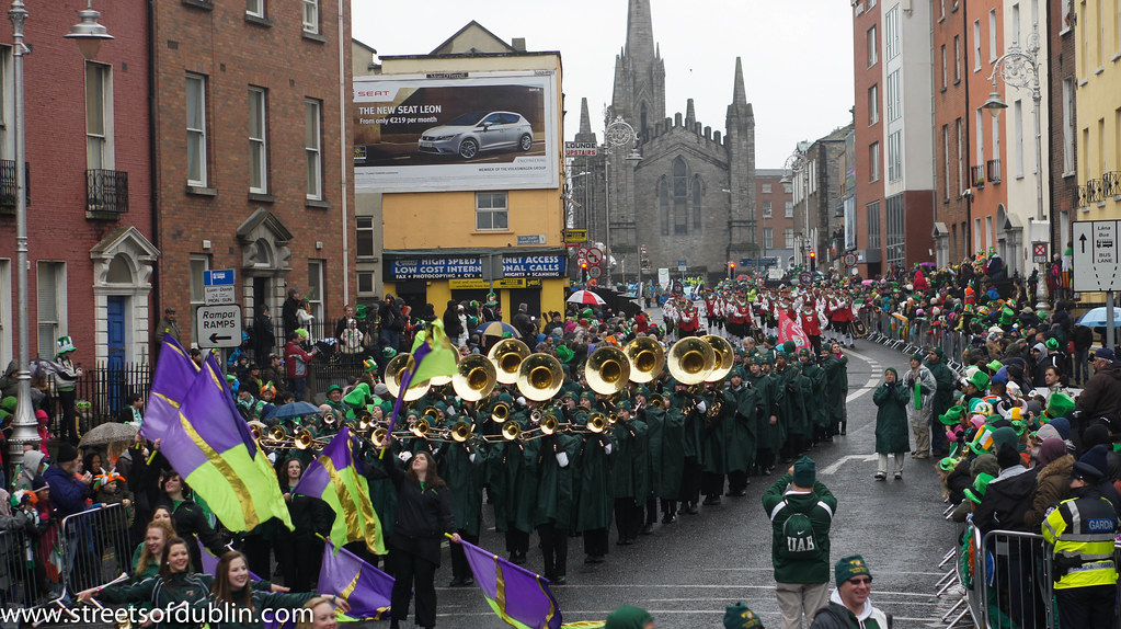 17th March 2013: St. Patrick's Day Parade In Dublin