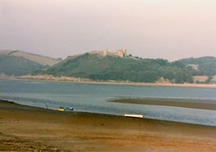 Photo of Llansteffan Castle from Ferryside