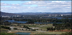 Canberra - from the National Arboretum (soneld) Tags: australia canberra act nationalarboretum canberraact