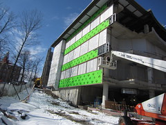 Southeast facade (williams_college_libraries) Tags: greenboard southeastfacade