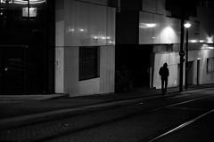[No more transportations] (ez90) Tags: street light shadow urban blackandwhite bw man france night canon bag mood noiretblanc streetphotography 5d rue nuit nantes valise markii photoderue nomoretransporttations