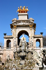 Font de la Cascada / Barcelona (rob4xs) Tags: barcelona fountain spain brunnen fuente font catalunya spanje parcdelaciutadella fontein cataloni fontdelacascada