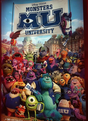 Monsters University ( M U ) by Brave Heart, on Flickr