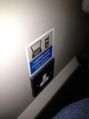 Power Plugs on the Train (jillmotts) Tags: uk scotland edinburgh honeymoon