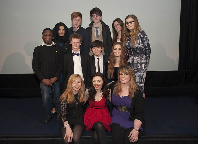 LiveWire BFI Film Academy cinema group shot