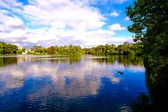 Photochallenge week 29: Landscape - Waterscape (Ing.LDA) Tags: wasser sommer jahreszeit jahreszeiten landschaft ding dinge objekte laxenburg objekt 52weekchallenge fujixpro1