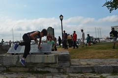 090716_hbuist_0056 (Hilbert 1958) Tags: parkourkingston kingstonsummerparkourworkshop july09 2016 kingston ontario freerunning training exercise sport fitness climbing jumping leaping