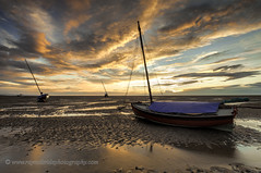 """""""Boats in the Setting Sun"""" (Ray Mcbride Photography) Tags: beach boats northwest sunsets"""