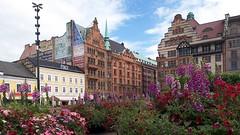 Malm, S ( doro 51 ) Tags: flowers houses architecture sweden schweden blumen s facades architektur malm huser fassaden 2016 dorophoto