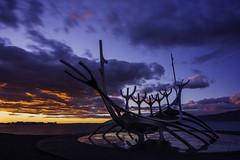 The fire (Jos M.S. Moreira) Tags: iceland sun voyager reykjavik sunset sunsetphotography entardecer prdosol cloudsstormssunsetssunrises