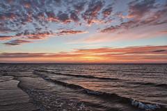 Glorious Evening (Alex Bruce Photo) Tags: pei princeedwardisland nationalpark sunset clouds sea beach waves