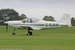 G-RJAM - 2012 build Sequoia F.8L Falco, arriving at Sywell during the 2014 LAA Rally (egcc) Tags: 2014laarally drew egbk f8l falco grjam laarally lightroom marks northampton orm pfa10011665 sequoia sywell