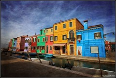 Bentsk lagna - ostrov Burano_Venetian Lagoon - the island of Burano_Italia (ferdahejl) Tags: venetianlagoon burano italia