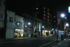nagoya15680 (tanayan) Tags: town urban cityscape aichi nagoya japan nikon j1    road street alley night view