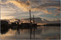 SPRIT OF RATHLIN ON ARKLOW QUAY (philipmaeve12) Tags: boats arklow quay cranes