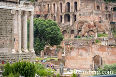Rome, Italy- The ruins of the Roman Forum, the ancient social, political and commercial hub of the Roman Empire. This district was home to temples, basilicas and many other public spaces. (Remsberg Photos) Tags: europe italy rome ancient ancientcivilization roman architecture buitstructure tourist sightseeing photography history historical internationallandmark capitolcity romaprovince ancientrome art ruins romanforum temples basilica publicspace ita