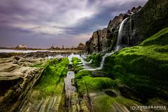 andere Welt (fran.fotographix) Tags: asturia moss fluss meer wasser natur rocks asturien grn franjollo wasserfall mystic espana clouds rockpools green pools moos spanien felsen
