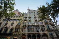 Casa Batllo - Barcelona (Madme Rve) Tags: gaudi batllo barcelona barcelone espagne spain