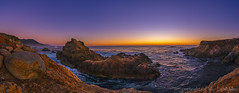 Bliss (philipleemiller) Tags: landscape seascape nature d800 california pacificcoast bigsur sunset twilight panoramas