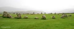 e castlerigg panoramic (Simon -n- Kathy) Tags: keswick england lakedistrict lakelands hike rain walk castlerigg