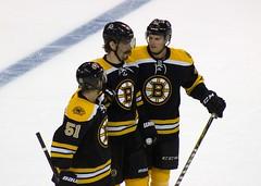 #51 Ryan Spooner, #93 Peter Mueller and #65 Chris Casto (Odie M) Tags: nhl hockey icehockey boston tdgarden preseason teamsport sport ice bostonbruins ryanspooner petermueller chriscasto