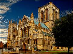 York Minster (johnroberts676) Tags: architecture manipulation minster york nikon d70 church