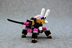 Alternate Melee (Deltassius) Tags: ijad space alien lego frame mech mecha robot war military mf0 mfz mobile zero scrambler