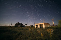 Startrail test Canon 5D Mark IV (CaptDanger) Tags: canon5dmarkiv 14mmlens 14mm f28iso32030seconds 5dmarkiv startrails startrail nightsky nighttime nightshots searshouse longexposureatnight longexposure newmexico newmexicoskies newmexicolandscapes abandoned ruins abandonedhouse ruraldecay photosbyalanosterholtz photography