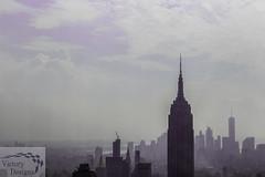 The City Below (victorydesignsny) Tags: empirestatebuilding skyline nyc nycskyline manhattanskyline newyorkskyline manhattan topoftherock newyorkcity clouds sky landscape cityscape photography photographyforsale monochrome ny nys newyorkstate nymetro newyork empire state