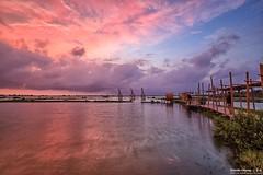 Chenglong Wetland~sunset~ (Estrella Chuang ) Tags:  sunset sky clouds water