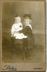 Happy siblings (elinor04 thanks for 28,000,000+ views!) Tags: old 1920s baby fashion kids vintage studio children found photo hungary photographer cabinet antique budapest siblings images collection card photograph age bow oldphoto childrens 1910s oldphotograph past magyar foundphoto foundphotograph antiquephotograph atelier hungarian sailorsuit foundphotos antiquephoto magyarország vintagephoto foundphotographs bygone műterem bygoneage rákos utóda elinorscollection hungariancollection elinorsvintagephotocollection hungarianstudio magyarműterem magyarfényképész