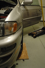2013-01-05 FirstStudMounted_21 (Absinthe-N-me) Tags: subaru iceracing studdedtire