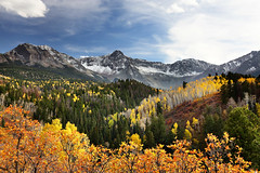Fall Color In Colorado (Oilfighter) Tags: mountains colorado fallcolor co ridgeway ouray
