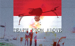 Death from Above / Drones (AK Rockefeller) Tags: indonesia army death war arms flag military creativecommons uav drones drone uavs