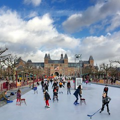 Ice skating next to the magnificent Rijksmuseum (B℮n) Tags: rijksmuseum amsterdam iceskating museumplein ice skating winter wonderland children fun ijsbaan skatingrink museumsquare iceamsterdam iamsterdam holland netherlands chair hockey puck kids center httpwwwiceamsterdamnl delightful legs stretching refresh koek zopie rink holiday enjoy pleasure weather blue skate pancakes soup canals national museum cold museumquarter entertainment travel body mind air city capital 50faves topf50