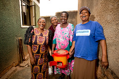 Improved cook stoves deliver health and financial benefits.