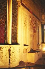 Fountain... (azzurz) Tags: water fountain turkey lights pentax k1000 kodak istanbul palace mosque topkapi sultanahmet profotoxl